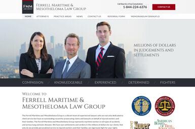 Ferrell Maritime & Mesothelioma